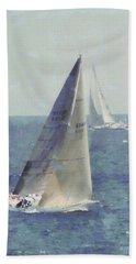 Marblehead To Halifax Ocean Race Bath Towel