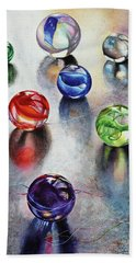 Marbles 1 Hand Towel