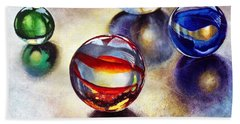 Marbles 2 Hand Towel