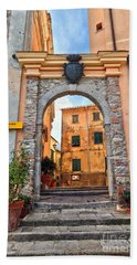 Marciana - Ancient Gate Hand Towel by Antonio Scarpi