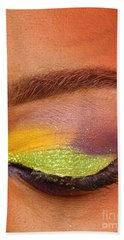 Mardi Gras 2014 Eye See Colors Of Mardi Gras Bath Towel