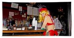 Mardi Gras Bar French Quarter Bath Towel