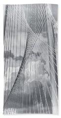 Margaret Hunt Hill Bridge Hand Towel