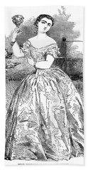 Maria Piccolomini (1834-1899) Hand Towel