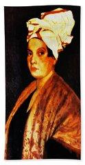 Marie Laveau - New Orleans Witch Bath Towel