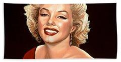 Marilyn Monroe 3 Bath Towel