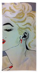 Marilyn Monroe Beautiful Bath Towel