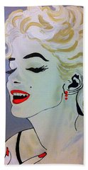 Marilyn Monroe Beautiful Hand Towel