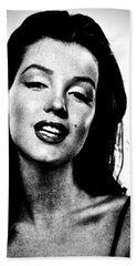 Marilyn Monroe--brunette Hand Towel