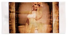 Marilyn Monroe Film Bath Towel