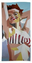Marilyn Bath Towel by Tracey Harrington-Simpson