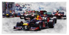 Mark Webber Hand Towel