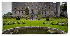 Markree Castle In Ireland's County Sligo Hand Towel