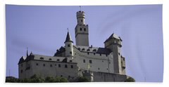 Marksburg Castle 18 Bath Towel