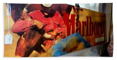 Marlboro Man Bath Towel by Ed Weidman