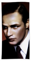 Marlon Brando Tribute Bath Towel
