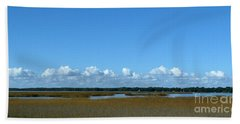 Marsh In Panacea Florida Bath Towel