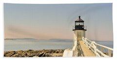 Marshall Point Lighthouse Maine Bath Towel