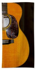 Martin Guitar  Hand Towel by Bill Cannon