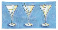 Martini Lunch Hand Towel