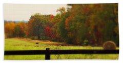 Maryland Countryside Bath Towel by Patti Whitten