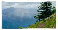 Mary's Peak Viewpoint Hand Towel by Nick  Boren