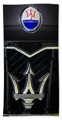 Maserati Badge Hand Towel
