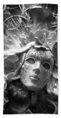 Masked Angel Bath Towel