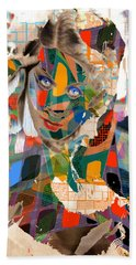 Masquerade Hand Towel by Seth Weaver