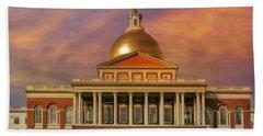 Massachusetts State House Hand Towel