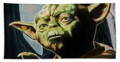 Master Yoda Bath Towel