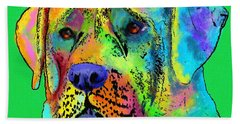 Mastiff Hand Towel