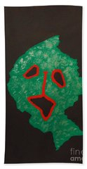 Hand Towel featuring the painting Masuku 2 by Roberto Prusso