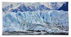 Matanuska Glacier Bath Towel