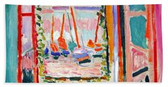 Matisse's Open Window At Collioure Hand Towel by Cora Wandel