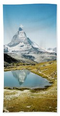 Matterhorn Cervin Reflection Hand Towel