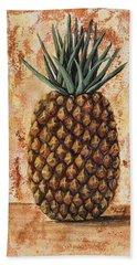 Maui Pineapple Hand Towel