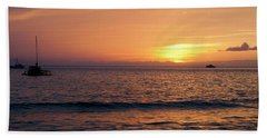 Maui Sunset Bath Towel