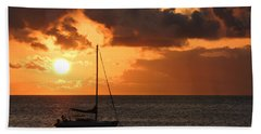 Maui Sunset Hand Towel