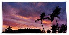 Maui Tiki Sky Bath Towel