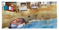 Mauricio's Village - Beach Huts Hand Towel