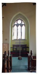 Bath Towel featuring the photograph May Hill Church by John Williams