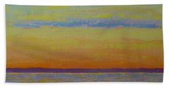 May Sunset Hand Towel by Gail Kent