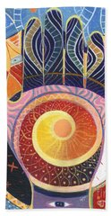 May You Always Find Your Way Bath Towel by Helena Tiainen