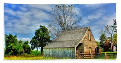 Mclean House Barn 1 Bath Towel by Dan Stone