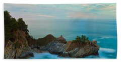 Mcway Falls At Sunrise Hand Towel