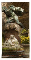 Medici Fountain - Paris Hand Towel by Brian Jannsen