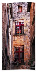 Medieval Architecture Bath Towel