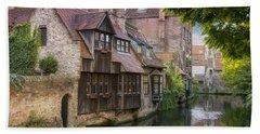 Medieval Bruges Hand Towel