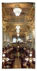 Meet Me For Coffee - New York Cafe - Budapest Hand Towel